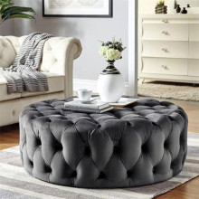 เก็บ Chesterfield Pouf Ottoman,Ottoman Bench