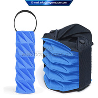 Factory New Design Neoprene Portable Collapsible Wine Bag