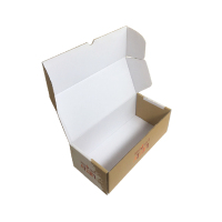 Full colour printing corrugated biscuit cookie box packaging colors customized printed paper for fruit cherry