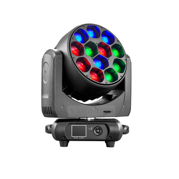 12x40w RGBW 4IN1 Zoom LED Moving Head Light