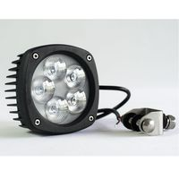 Hot Sale Vehicle Part 5000 Lumen 48W 50W 60W LED Work Light 12V 24V LED Work Lamp for Jeep Truck Offroad Auto Parts Atvs
