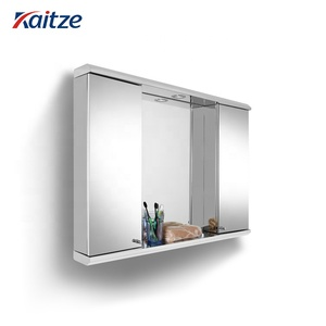 Cheap Price Led Mirror Stainless Steel Portable Bathroom American Kitchen Cabinet