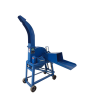 New Design Best Price Agriculture Hand Operated Homemade Small Mini Chaff Cutter Machine Used For Small Farm In India Kenya Sale