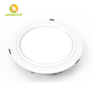 45w 38w 30w 20w 15w 12w Round Trimless Recessed Ugr 22 Waterproof Smd 40w Led Downlight