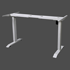 Achaia Electric Stand Up Desk Frame Only Solid Steel w/single Motor Ergonomic Standing Height Adjustable Standing Table