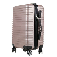 PC Rolling Luggage Suitcases on Wheel Business Trolley Spinner Fashion Cabin luggage Travel Bag Hard Trunk