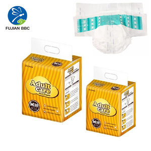 wholesale Adult diaper with fitted leakage guards ,soft and comfortable surface,wet indicator for adult from china