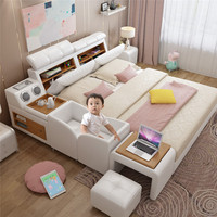 2019 hot selling multifunctional bed sets with storage massage functions