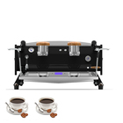 Semi-automatic machine Commercial coffee machine coffee maker two group Stainless Steel expresso machine