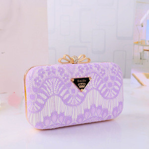 China market ladies clutches fashionable evening bag wholesale trendy elegant evening bag clutch