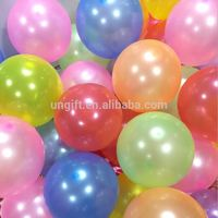Party Balloon, 95 Pcs One Bag Assorted Color Latex Party Decorations Balloon