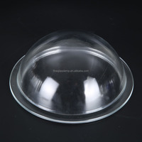 Explosion Proof Tempered Clear Borosilicate Glass Dome Lamp Cover Light Shade