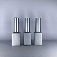 8ml empty gel polish glass bottle liquid oil round cylinder square uv gel nail polish glass bottles brush cap 5ml 10ml 12ml 8ml