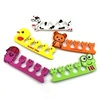 Hot sales Cartoon Pattern Pedicure Manicure Tools Cute Animal Bear Pig Duck Fog Lovely Nail Art Soft Finger Toe Separator
