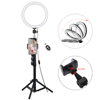 13Inch 18w Photography Lighting Dimmable Mini USB Led Selfie Ring Light Makeup kit +1.4M Tripod For Studio Video