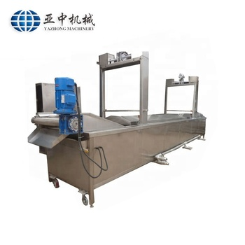 1500kg/h Automatic Feeding Continuous Small Potato Chips Fryer
