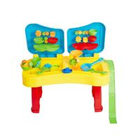 Sandbox Sand and Water Table Beach Toys Set Beach Play Table Sand for Children