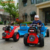 China manufacturer new design 4 wheel 12v battery kids ride on toy electric walking mini tractor