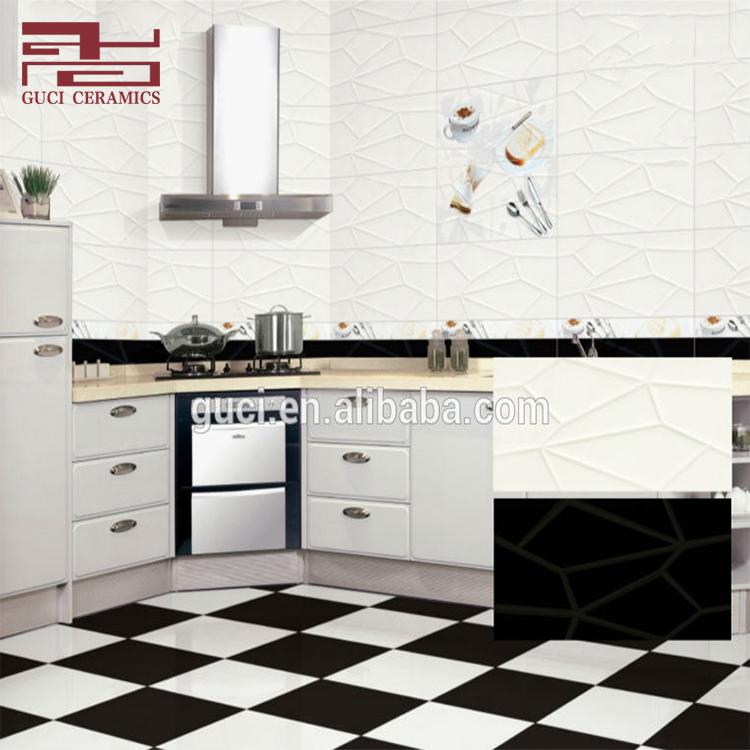 30x60 سنتيمتر السيراميك الجدار والأرض تنقش الأسود والأبيض بلاط للمطبخ Buy بلاط المطبخ بلاط المطبخ الأسود والأبيض بلاط المطبخ تنقش Product On Alibaba Com