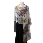 New Female Flower Soft Cashmere Scarves Shawls Pashmina Poncho Stoles For Women