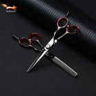 "2019 XHJ-575 customize logo 5.75"" Length Razor Edge Hairdressing Regular Scissors with Adjustment Tension Screw Chinese 440C"