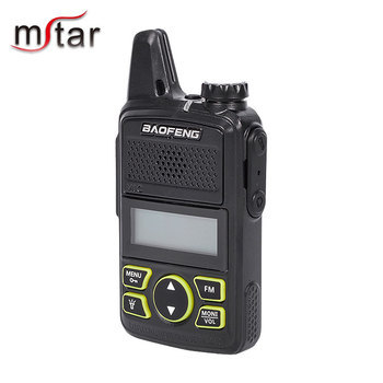 Newest  BF-T1  mini size 400-470MHZ   Popular Mini Baofeng T1 Walkie Talkie