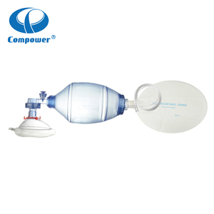 Artificial Emergency Ambu Bag Manual Resuscitator With Mask
