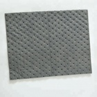 Perforated universal absorbent mat dimpled universal absorbent pads with tearing line
