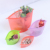 4 Packs Reusable Silicone Food Storage Preservation Bags