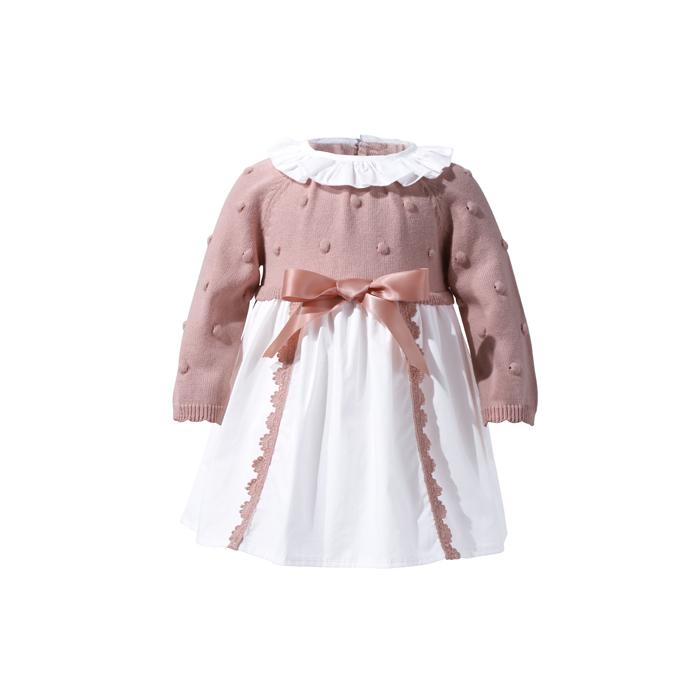 31e14f505 Atacado Novo Estilo 100% Algodão Casuais Camisola Recém-nascidos Do Bebê  Meninas Vestido