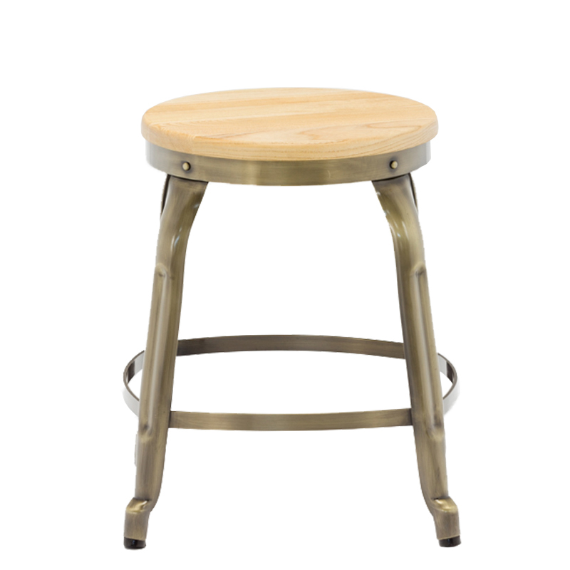 Commercial Furniture Retro Bistro Metal Chair For Bar Restaurant Vintage Bar Chair For Sale