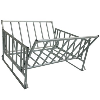 High quality Galvanized steel sheep hay feeder on wall hay racks for sheep
