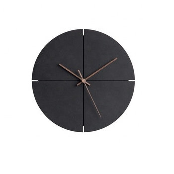 Brief Style Creative Fashion Home Decorative Silent Sweep Custom Wall Clock