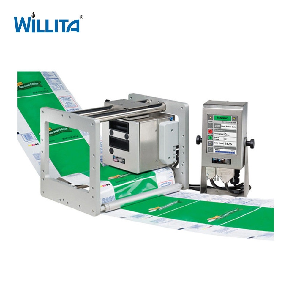 Lint TTO Thermische Transfer Printer voor Biscuit Verpakking Machine