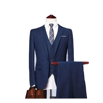 China Wholesale Wedding 3 Piece Men's Suit