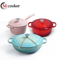 Hot sale enamel nonstick cast iron cookware for kitchenware
