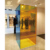 Blue and orange mix colored mirror shower cubicle 900x900x2000mm custom size tempered glass mirror shower enclosure