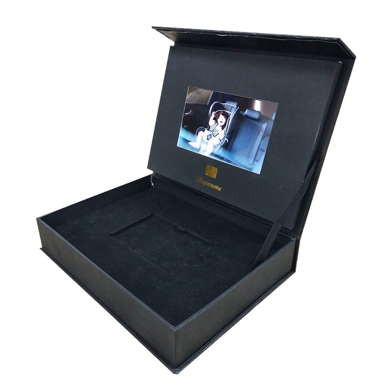 2.4inch/5inch/7inch/10inch Fashion LCD Video Ring jewelry Gift TV Box Brochure With Screen For <strong>Luxuries</strong> Promotion Advertisement