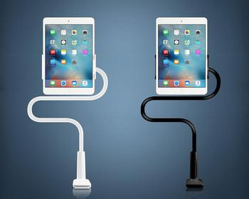 Multiple Tablet Phone Desk Stand 360 Rotating Flexible Lazy Neck Phone Holder