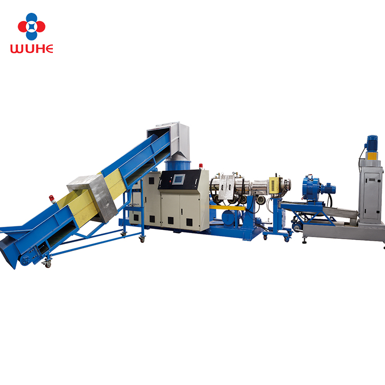 pelletizer machine voor recirculatie plastic