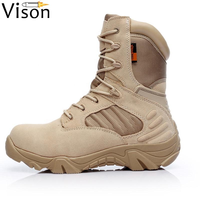 Delta de combate de la fuerza de EE. UU. Militares Zapatos de los hombres botas ejército botas tácticas