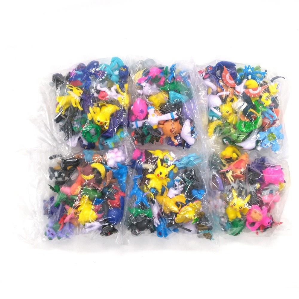 Amazon Vente Chaude Mini Mignon 2 3 Cm Dessin Animé Pokemon Figurines En Plastique Jouet Monstre De Poche Buy Figurines Pokemonfigurines