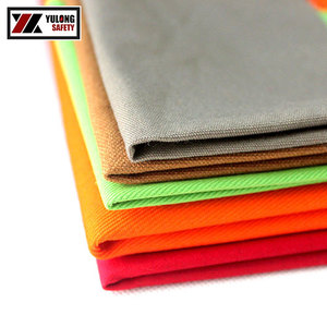 Low Formaldehyde Fireproof Twill Flameproof FR 100 Cotton Fabric For Clothing Workwear Garment