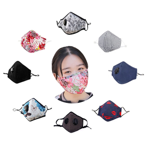 anti bacterial pollen dust gauze cotton sport n95 n99 face antibacterial mask