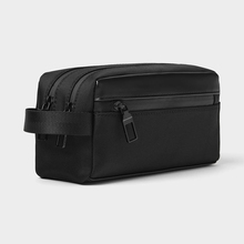 Hot Koop Zwarte <span class=keywords><strong>Make-Up</strong></span> <span class=keywords><strong>Tas</strong></span> Vanity Case Custom Logo Toilettas Mannen Cosmetische <span class=keywords><strong>Tas</strong></span>