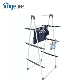 Indoor and Outdoor Use Steel Drying Rack Hanger Stand For Clothes