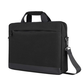 OEM Custom 100% Polyester Waterproof Computer Messenger Laptop Bag