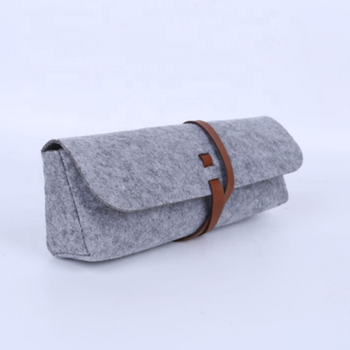 custom eco-friendly felt umbrella sleeve umbrella case bag