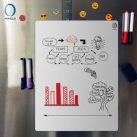 7.9-23B1 Dry erase refrigerator magnetic whiteboard magnetic notice board magnetic marker board