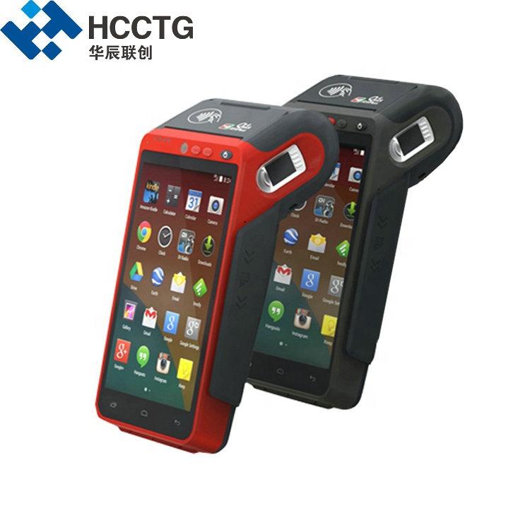 Smart Handheld Gprs Nfc 4g Payment Qr Code Android Edc Fingerprint Pos  Terminal Hcc-z100 - Buy Fingerprint Pos Terminal,Android Edc Pos  Terminal,Qr